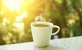 coffee in the sun